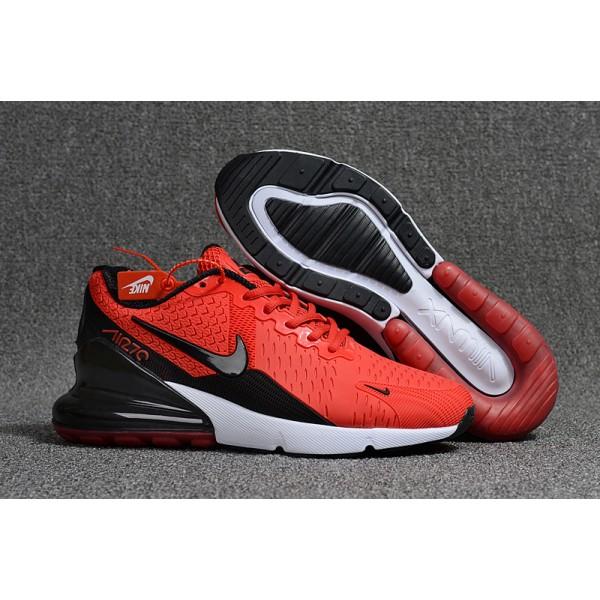 China Replica Nike Air Max 270 Mens Shoes Red Black