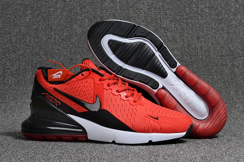 curva enchufe Suplemento  China Replica Nike Air Max 270 Mens Shoes Red Black